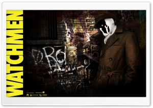 Rorschach Watchmen HD Wide Wallpaper for Widescreen