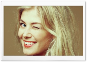 Rosamund Pike HD Wide Wallpaper for Widescreen