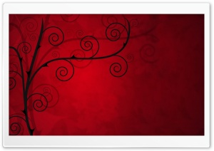Rose Thorns Vector Art HD Wide Wallpaper for Widescreen