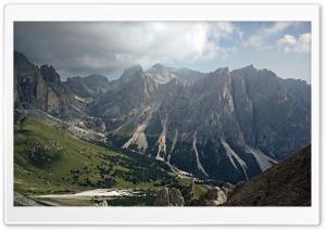 Rosengarten Mountain range in Italy Ultra HD Wallpaper for 4K UHD Widescreen desktop, tablet & smartphone