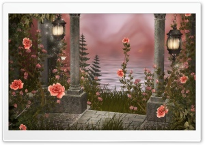 Roses Drawing HD Wide Wallpaper for Widescreen