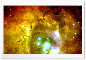 Rosette Nebula HD Wide Wallpaper for 4K UHD Widescreen desktop & smartphone