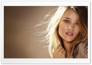 Rosie Huntington For Burberry HD Wide Wallpaper for Widescreen