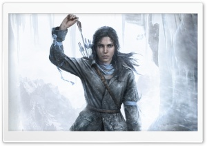 ROTTR  Lara Croft 2015 HD Wide Wallpaper for Widescreen