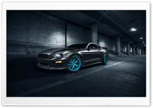 Roush Ford Mustang Vossen Wheels HD Wide Wallpaper for 4K UHD Widescreen desktop & smartphone