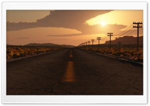 Route US 66 HD Wide Wallpaper for Widescreen