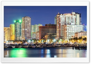 Roxas Boulevard HD Wide Wallpaper for Widescreen