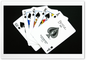 Royal Flush HD Wide Wallpaper for Widescreen