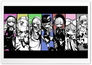 Rozen Maiden Manga IV HD Wide Wallpaper for Widescreen