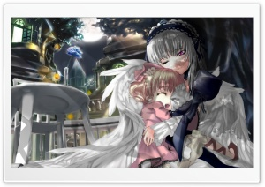 Rozen Maiden Manga V HD Wide Wallpaper for Widescreen