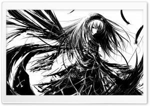Rozen Maiden Suigintou HD Wide Wallpaper for Widescreen