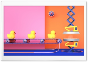 Rubber Ducks Ultra HD Wallpaper for 4K UHD Widescreen desktop, tablet & smartphone