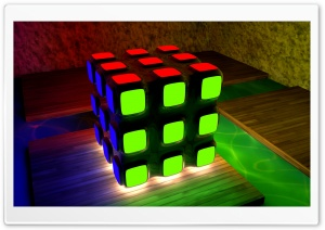 Rubik HD Wide Wallpaper for Widescreen
