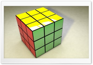 Rubiks Cube HD Wide Wallpaper for 4K UHD Widescreen desktop & smartphone