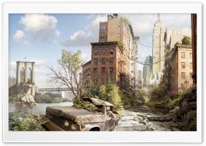 Ruined City Ultra HD Wallpaper for 4K UHD Widescreen desktop, tablet & smartphone