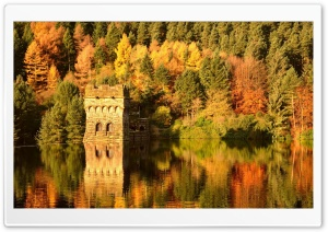 Ruins On The River Ultra HD Wallpaper for 4K UHD Widescreen desktop, tablet & smartphone