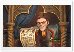 Rumpelstiltskin, Shrek The Final Chapter HD Wide Wallpaper for Widescreen