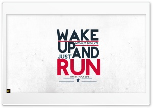 RUN HD Wide Wallpaper for Widescreen