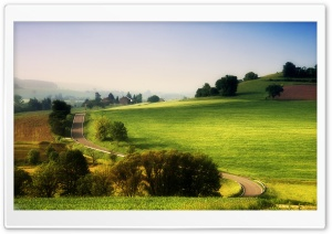 Rural Landscape HD Wide Wallpaper for Widescreen