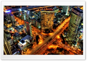 Rush Hour In Seoul, Korea Ultra HD Wallpaper for 4K UHD Widescreen desktop, tablet & smartphone