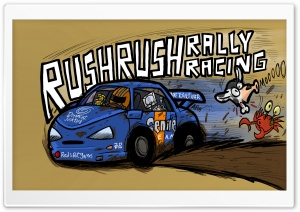 Rush Rush Rally Racing HD Wide Wallpaper for Widescreen