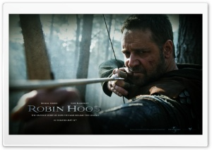 Russell Crowe as Robin Hood, Robin Hood, 2010 Movie HD Wide Wallpaper for Widescreen