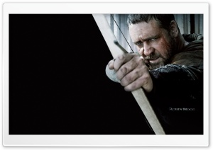 Russell Crowe as Robin Hood, Robin Hood 2010 Movie HD Wide Wallpaper for Widescreen