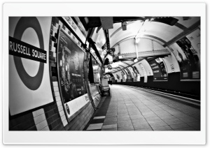 Russell Square Station - London HD Wide Wallpaper for 4K UHD Widescreen desktop & smartphone