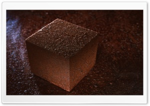 Rust Looking Cube HD Wide Wallpaper for Widescreen
