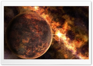 Rusted Planet HD Wide Wallpaper for Widescreen