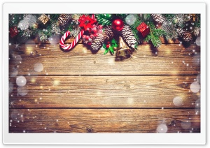 Rustic Christmas Ultra HD Wallpaper for 4K UHD Widescreen desktop, tablet & smartphone