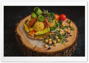 Rustic Food Plating Ultra HD Wallpaper for 4K UHD Widescreen desktop, tablet & smartphone