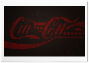 Rusty Coca Cola Logo HD Wide Wallpaper for Widescreen
