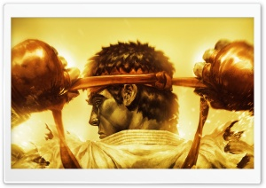 Ryu Street Fighter HD Wide Wallpaper for Widescreen