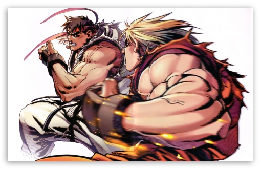 Ryu vs. Ken HD wallpaper for Wide 16:10 5:3 Widescreen WHXGA WQXGA WUXGA WXGA WGA ; HD 16:9 High Definition WQHD QWXGA 1080p 900p 720p QHD nHD ; UHD 16:9 WQHD QWXGA 1080p 900p 720p QHD nHD ; Standard 4:3 3:2 Fullscreen UXGA XGA SVGA DVGA HVGA HQVGA devices ( Apple PowerBook G4 iPhone 4 3G 3GS iPod Touch ) ; iPad 1/2/Mini ; Mobile 4:3 5:3 3:2 16:9 - UXGA XGA SVGA WGA DVGA HVGA HQVGA devices ( Apple PowerBook G4 iPhone 4 3G 3GS iPod Touch ) WQHD QWXGA 1080p 900p 720p QHD nHD ;