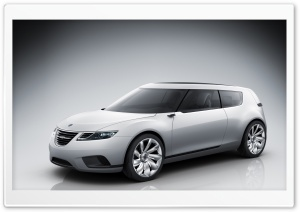 Saab Car HD Wide Wallpaper for Widescreen
