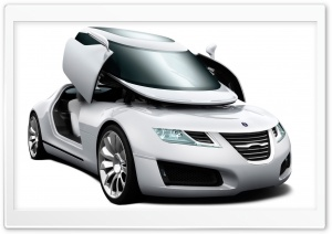 Saab Car 4 HD Wide Wallpaper for Widescreen