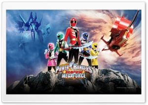 Sabans Power Rangers Super Megaforce HD Wide Wallpaper for 4K UHD Widescreen desktop & smartphone