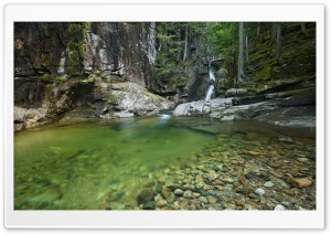 Sabbaday Falls, New Hampshire HD Wide Wallpaper for Widescreen