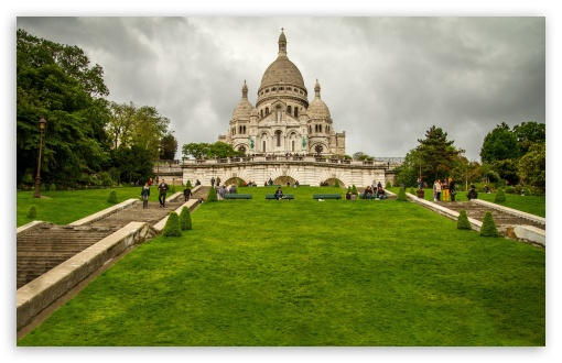 Sacre Coeur Basilica, Paris, France ❤ 4K UHD Wallpaper for Wide 16:10 5:3 Widescreen WHXGA WQXGA WUXGA WXGA WGA ; 4K UHD 16:9 Ultra High Definition 2160p 1440p 1080p 900p 720p ; UHD 16:9 2160p 1440p 1080p 900p 720p ; Mobile 5:3 16:9 - WGA 2160p 1440p 1080p 900p 720p ;