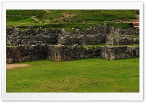 Sacsayhuaman Ruins Peru HD Wide Wallpaper for Widescreen