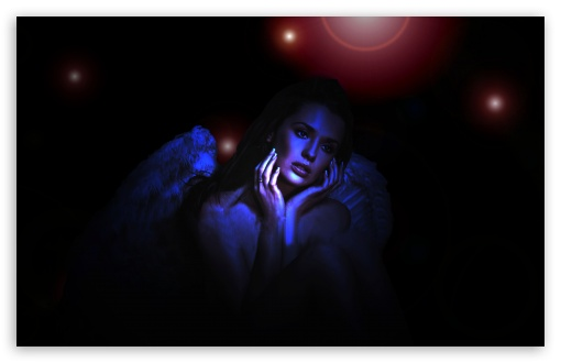 Sad Angel UltraHD Wallpaper for Wide 16:10 Widescreen WHXGA WQXGA WUXGA WXGA ;