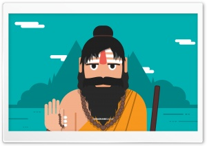 Sadhu HD Wide Wallpaper for Widescreen