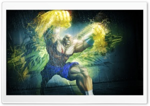 SAGAT IN STREET FIGHTER HD Wide Wallpaper for Widescreen