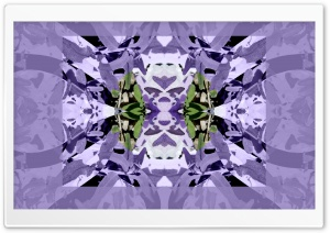 Sage with Lavender Symmetry Art