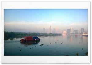 Sai Gon morning Ultra HD Wallpaper for 4K UHD Widescreen desktop, tablet & smartphone
