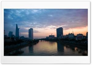 Saigon Sunrise Ultra HD Wallpaper for 4K UHD Widescreen desktop, tablet & smartphone