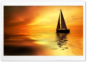 Sail Boat HD Wide Wallpaper for Widescreen