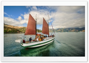 Sailboat HD Wide Wallpaper for Widescreen
