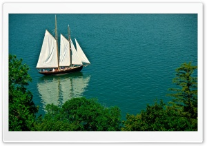 Sailing Boat HD Wide Wallpaper for Widescreen